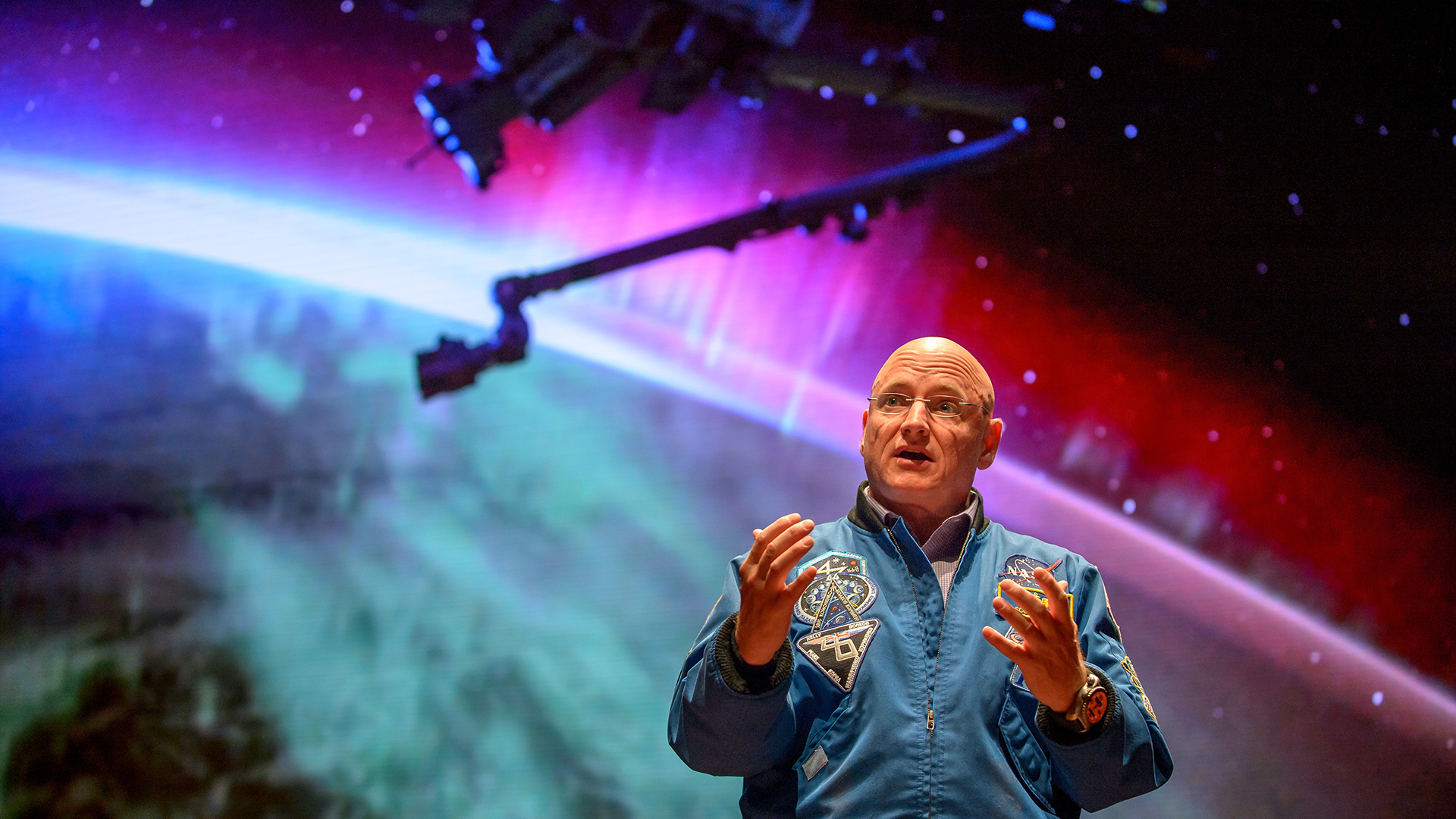 Scott Kelly's re-entry to Earth explored in 'Beyond a Year in Space'