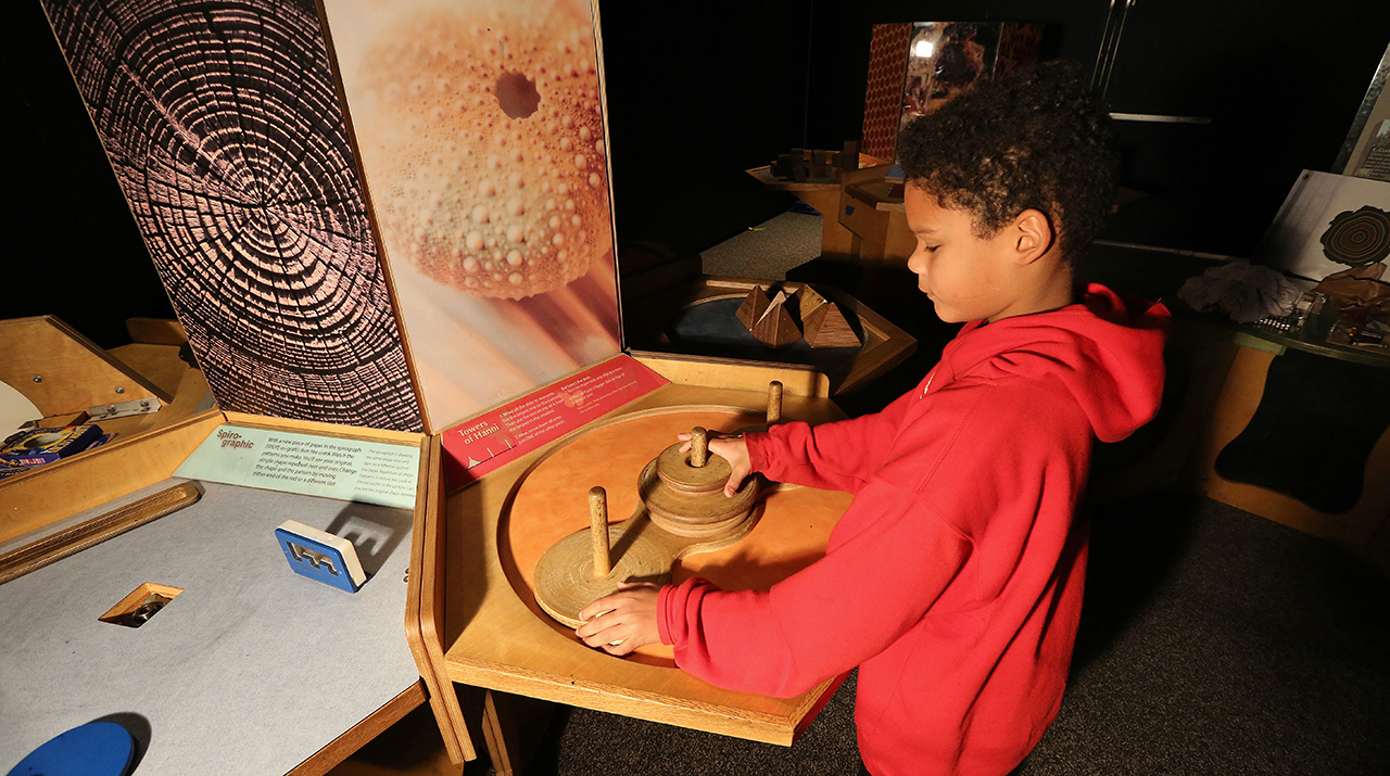 Discovery Center to show Mother Nature's hidden math-geek side