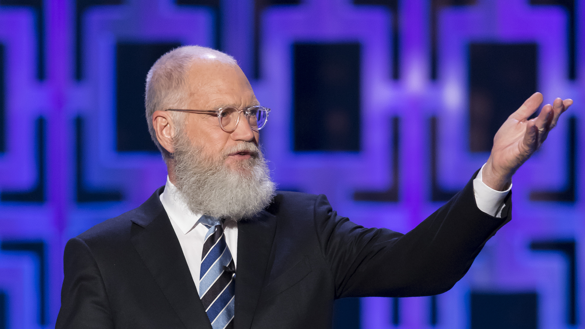 David Letterman honored with Mark Twain Prize in November special