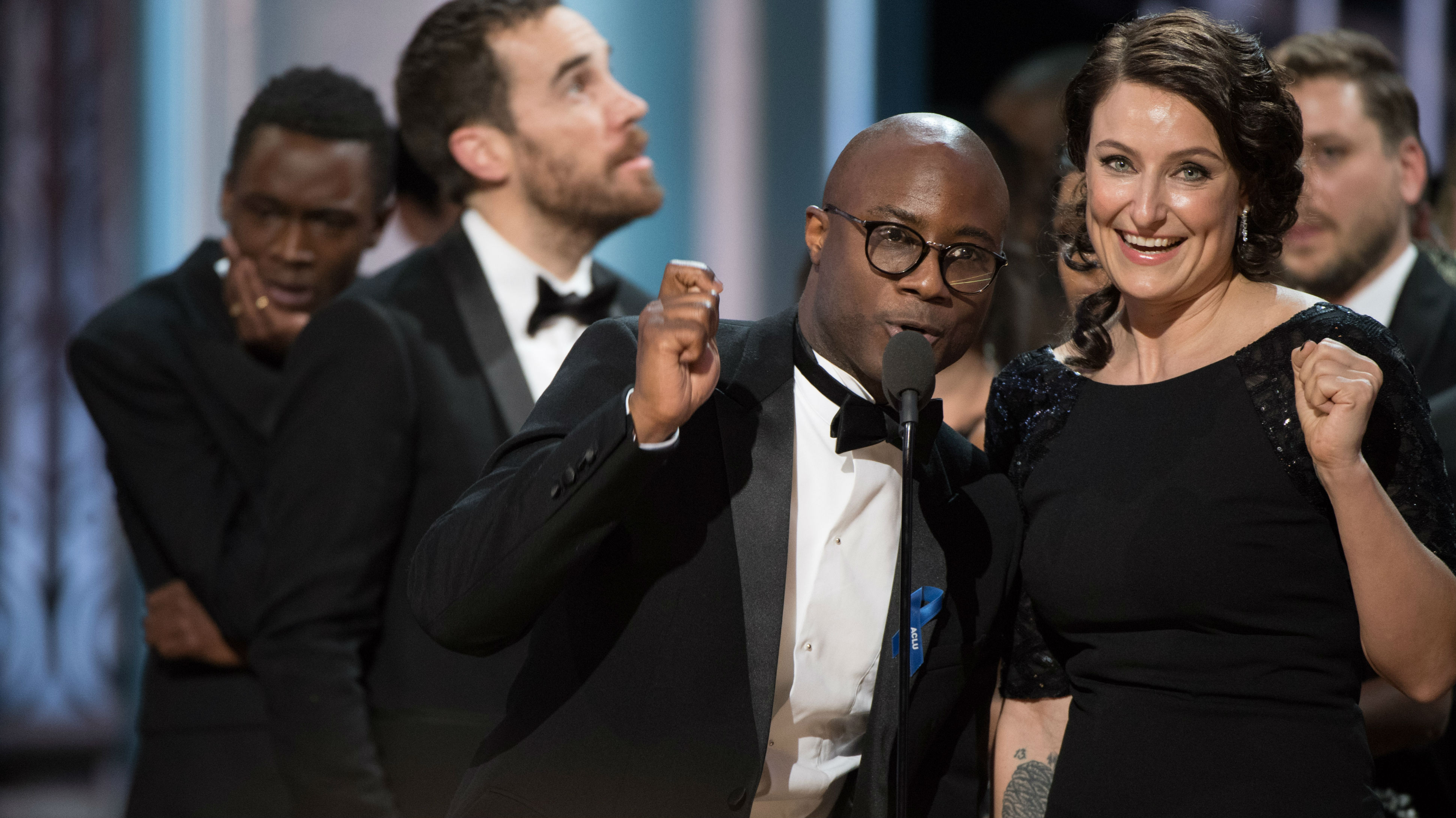 In a shocker, 'Moonlight' wins Best Picture at surprising Oscar ceremonies