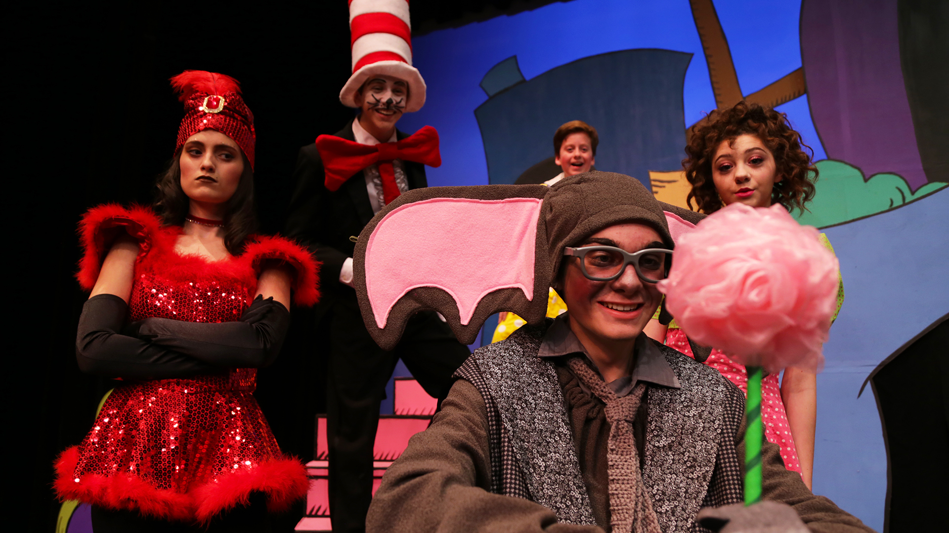 Children's favorites come to life in ALT Academy's 'Seussical the Musical'