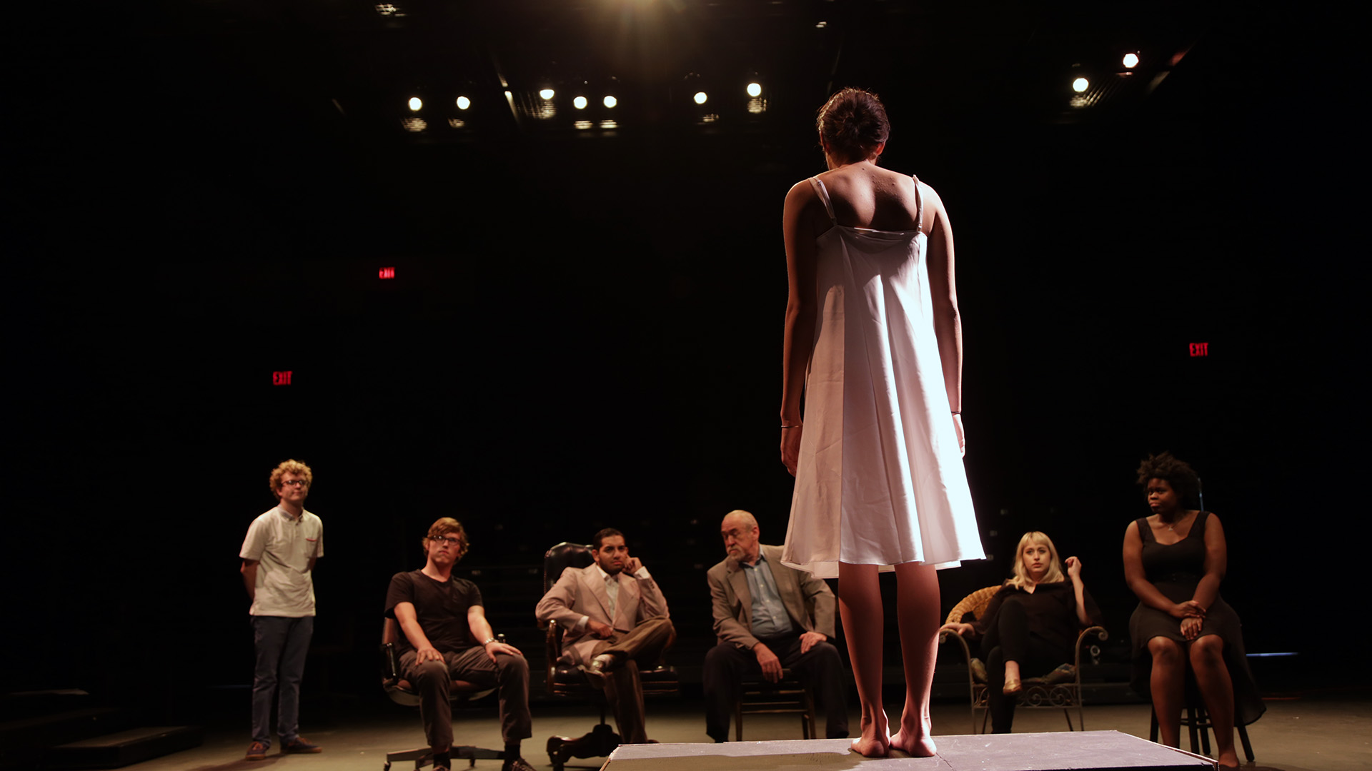 """With 'Stupid F---ing Birds,"""" AC students hope to shake up theatrical status quo"""