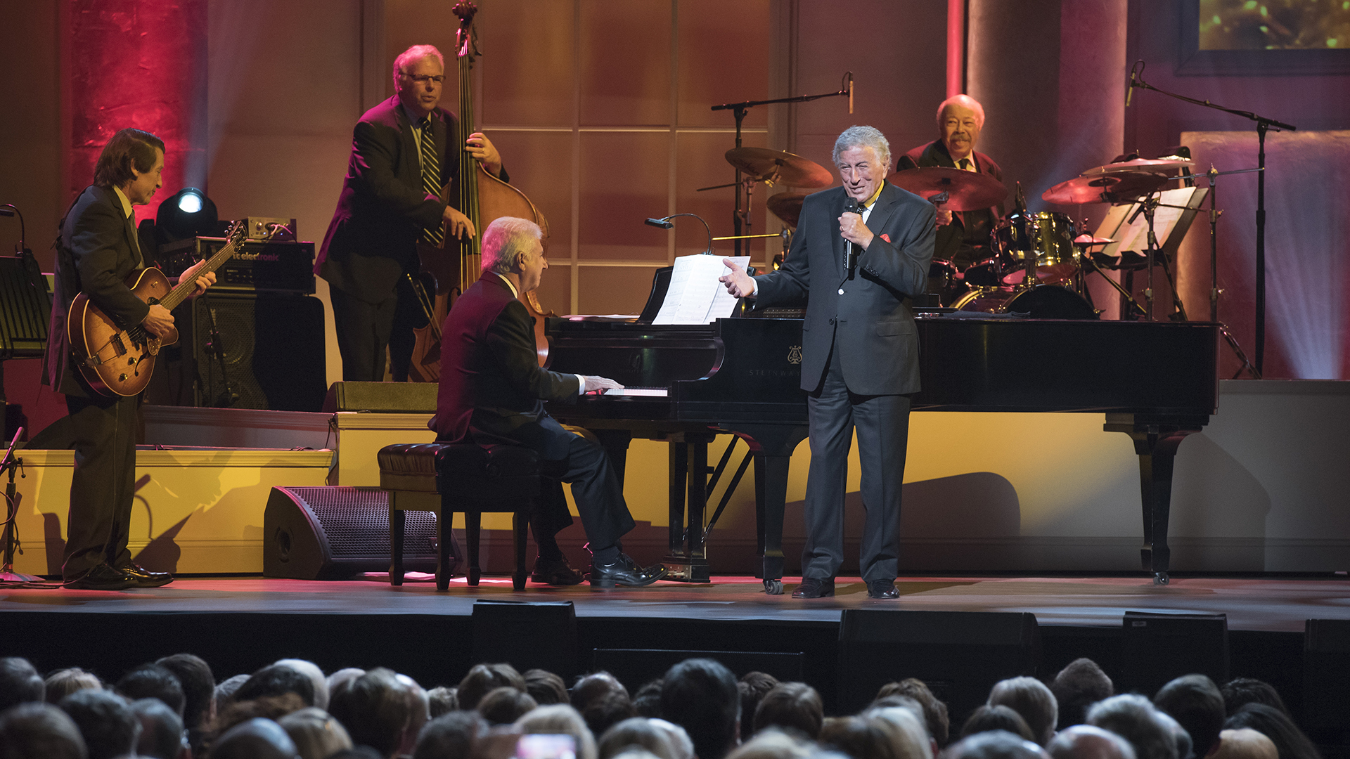 Iconic crooner Tony Bennett honored with Gershwin Prize in PBS special