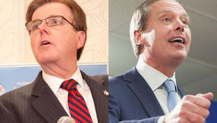 Patrick and Dewhurst Heading to Runoff in Lt. Gov. Race