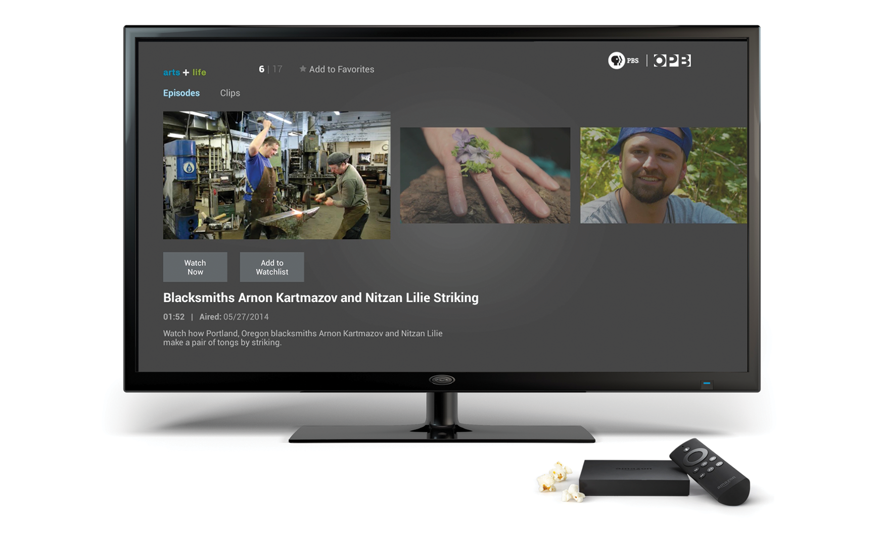 Fire TV Connected TV PBS Anywhere - Us zip code tv provider
