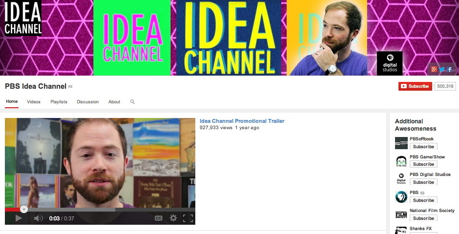 WINNER: PBS Idea Channel