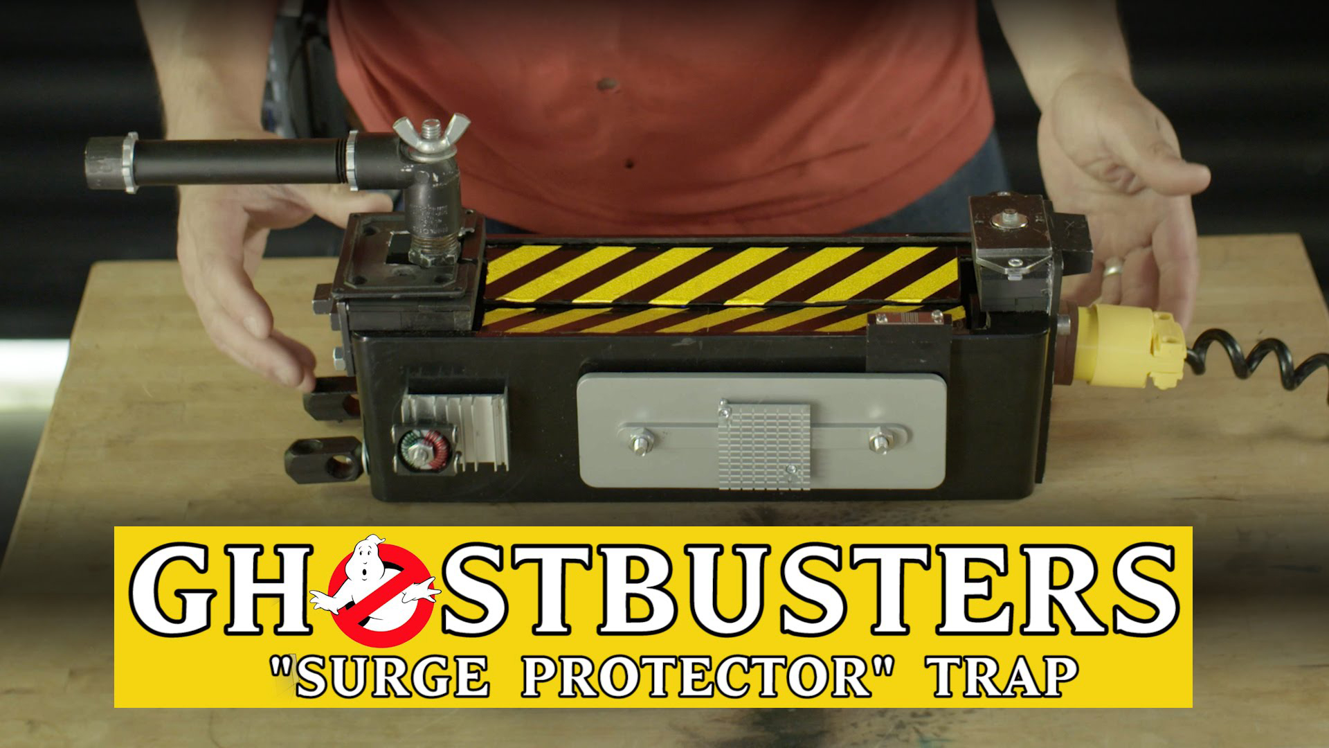 "Ghostbusters ""Surge Protector"" Trap"