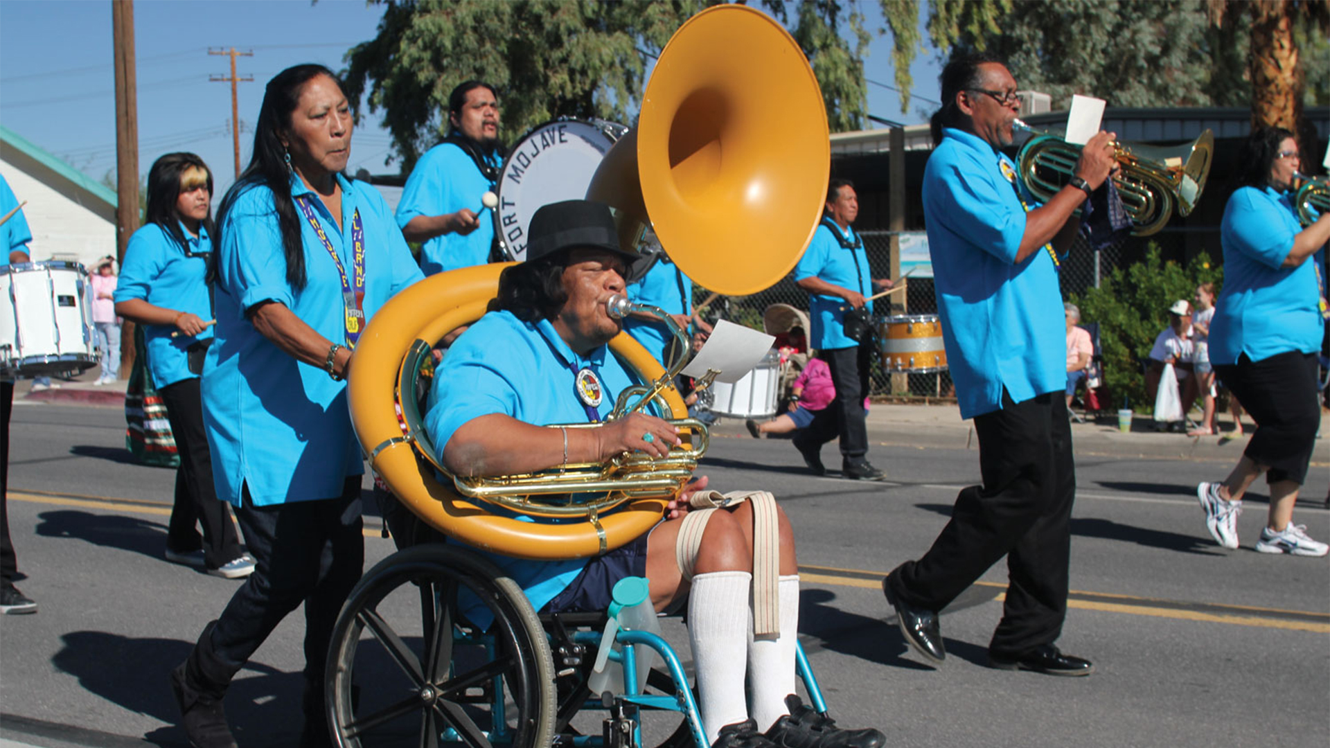 SOUSA ON THE REZ: MARCHING TO THE BEAT OF A DIFFERENT DRUM