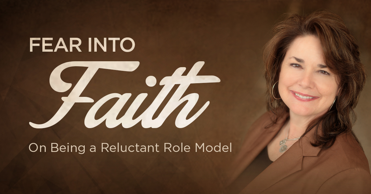 "Livestream Event:  ""Fear Into Faith: On Being a Reluctant Role Model"""