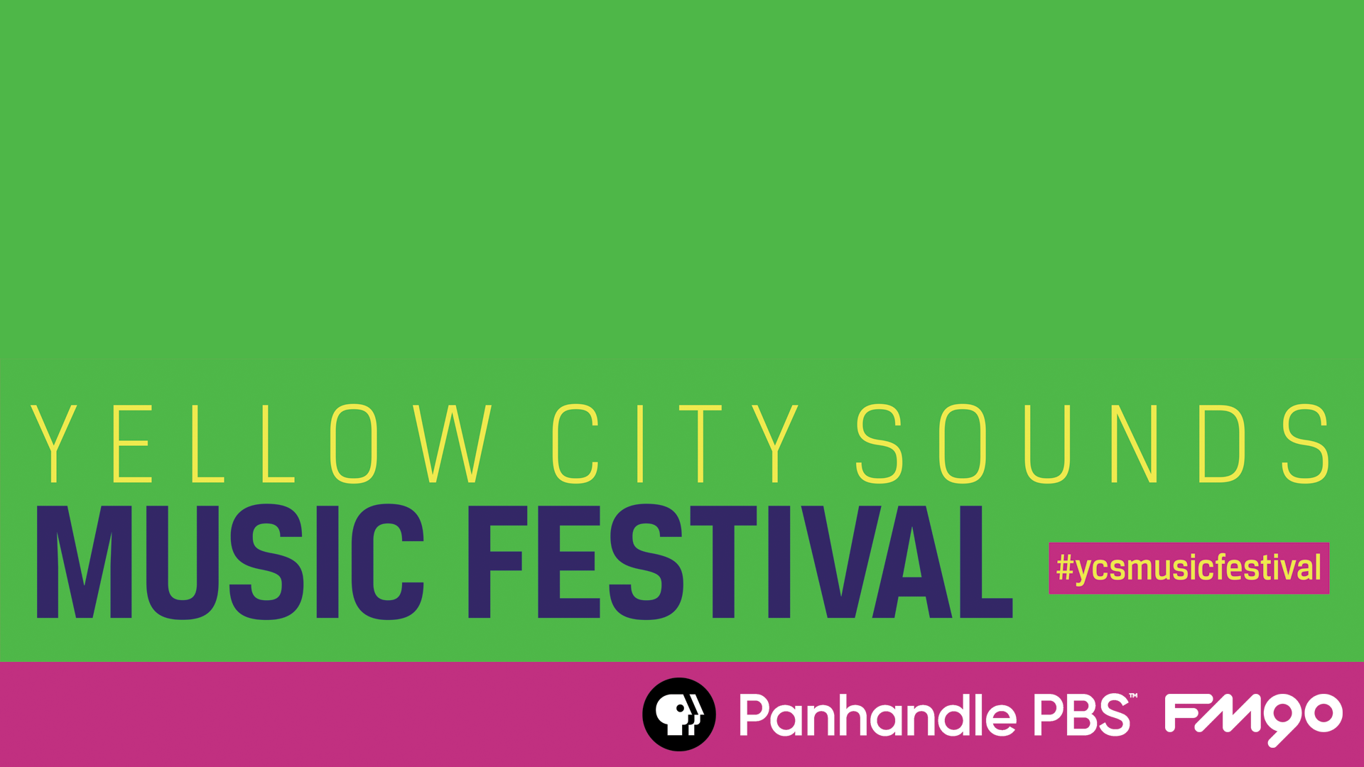 yellow city sounds music festival 2018