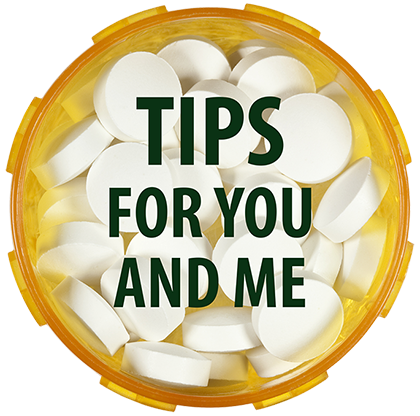 Tips for You and Me