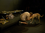 """The one-man show """"Bond: A Soldier and His Dog"""" by Iraq War veteran Logan Black captivates audiences at the Kansas City Fringe Festival"""