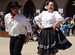 Elaina Hernandez shares her passion for Mexican folkloric dance with the youth of Toledo, Ohio