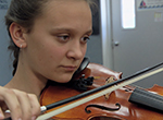 Travel to Cocoa, FL to meet sixth-grade violinist Emma Brandenburg.