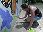 Visit the Fantastic Food Garden Mural in Columbus