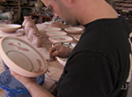 The artmaking process of Yellow Springs potter Naysan McIlhargey forges a unique bond
