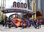 Local artists take over downtown streets each May at the Reno Sculpture Festival