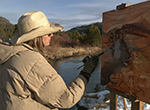 Travel to California to meet plein air landscape painter Phyllis Shafer