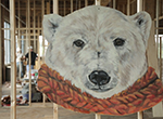 Columbus artist Mandi Caskey brings the spirit animals of Compton Construction employees to life