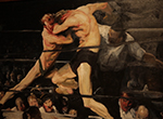 Travel to Cleveland to check out George Bellows' famous and controversial 1909 boxing painting Stag at Sharkey's