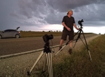 Storm chaser Stephen Locke uses his camera to capture the fury of mother nature