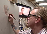 Oklahoma portrait artist Reian Williams is given a golden opportunity at the Academy Awards in Hollywood