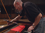 Worthington, Ohio's historic Trondlin fortepiano undergoes a complete restoration