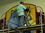 The Walldogs paint murals and old-fashioned wall advertisements that transform a small town in Wisconsin