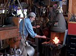Ashland, Ohio metalsmith Barry Wheeler forges whimsical metal sculptures