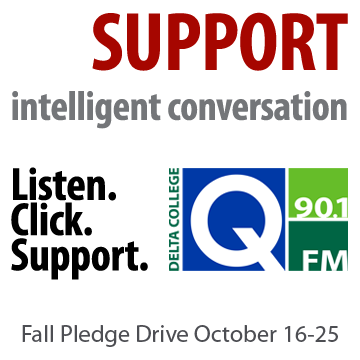 Listen. Click. Support. Q-90.1 FM Fall Pledge Drive. October 16-25.