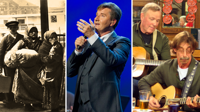 Settling In, Daniel O'Donnell: Stand Beside Me, New Celtic Traditions.