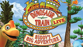 Dino Train Live - Family Four Pack Giveaway