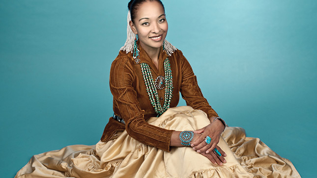 Radmilla Cody, the subject of 'Hearing Radmilla,' which is being screened at the Indigenous Film and Arts Festival.