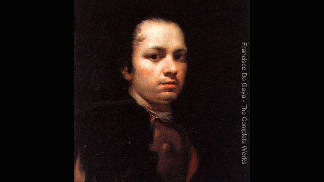 A self-portrait of the artist Francisco Goya