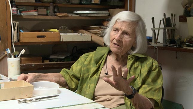 Centenarian's Work Serves As A Gallery Of Memory