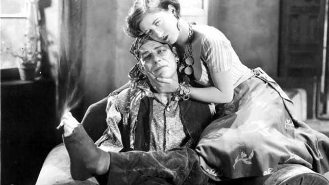 "Actors Lon Chaney and Joan Crawford in a scene from the 1927 silent film ""The Unknown."" Its among the films being screened at the Denver Silent Film Festival."