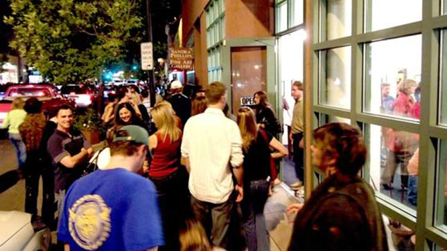 The seventh annual Denver Arts Week begins Friday night. First Friday Arts Walks, pictured here, kicks-off the event.