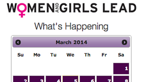 Women and Girls Lead Calendar