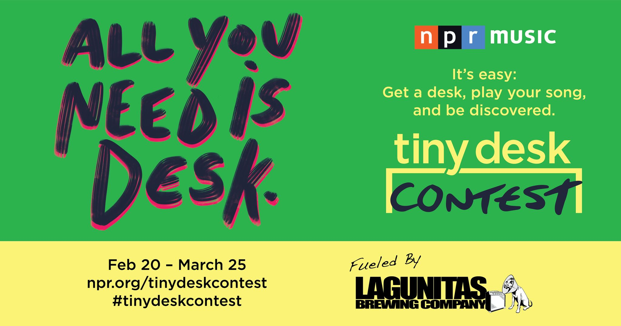 NPR 2018 Tiny Desk Contest