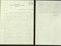 Jerry Shannon Letter to the President