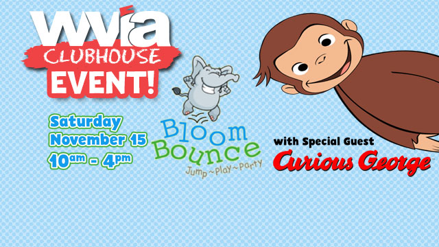 WVIA Clubhouse Event at Bloom Bounce
