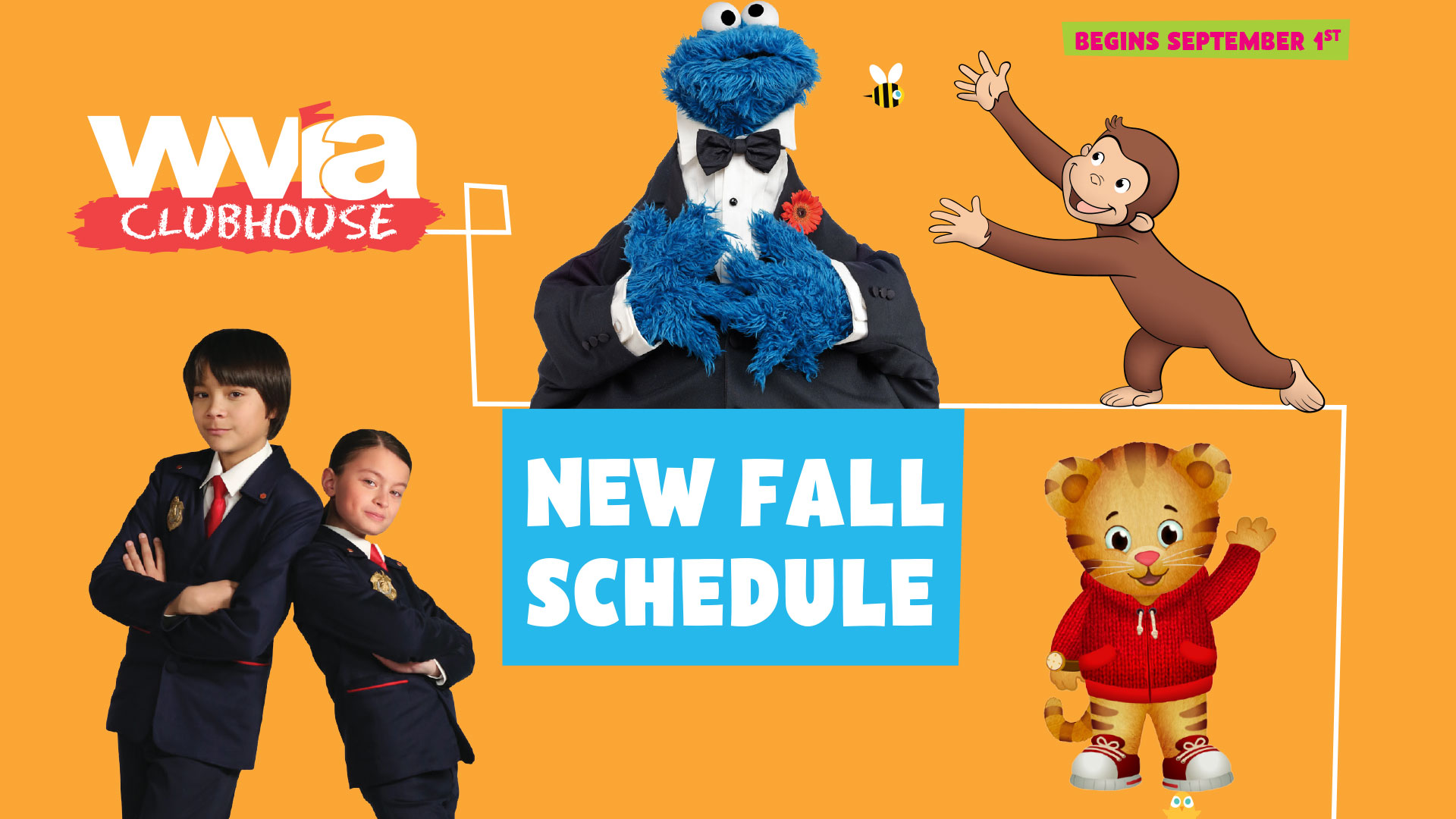 WVIA Clubhouse Fall Schedule