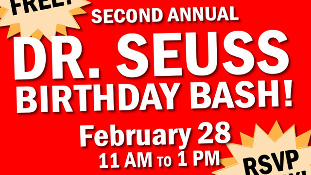 Second Annual Dr. Seuss Birthday Bash