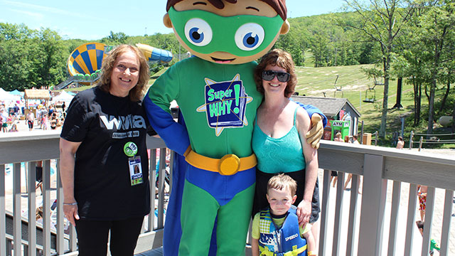 WVIA Family Day at Montage Mountain Waterpark