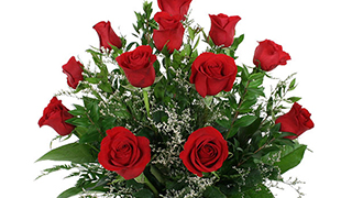 Pledge Now for a Dozen Red Roses