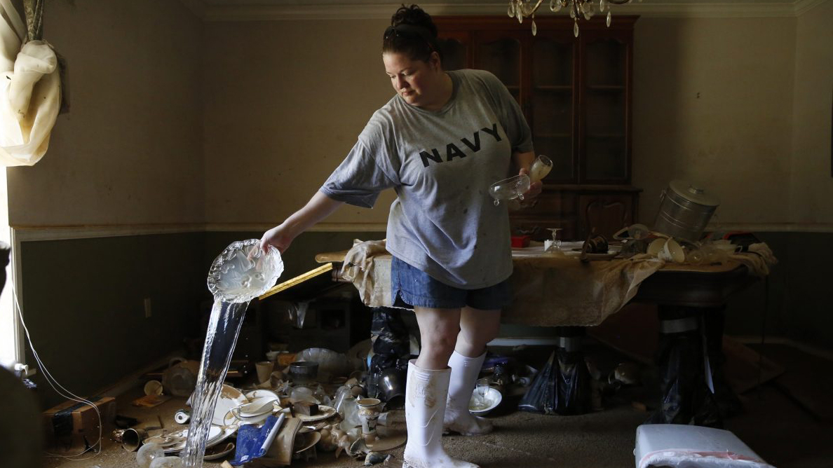 NJ Volunteers Help Louisiana Flood Victims