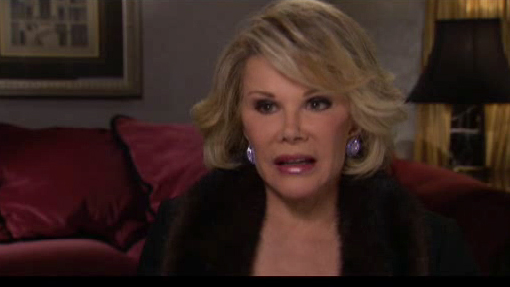 Joan Rivers on the Hypocrisy of Celebrity