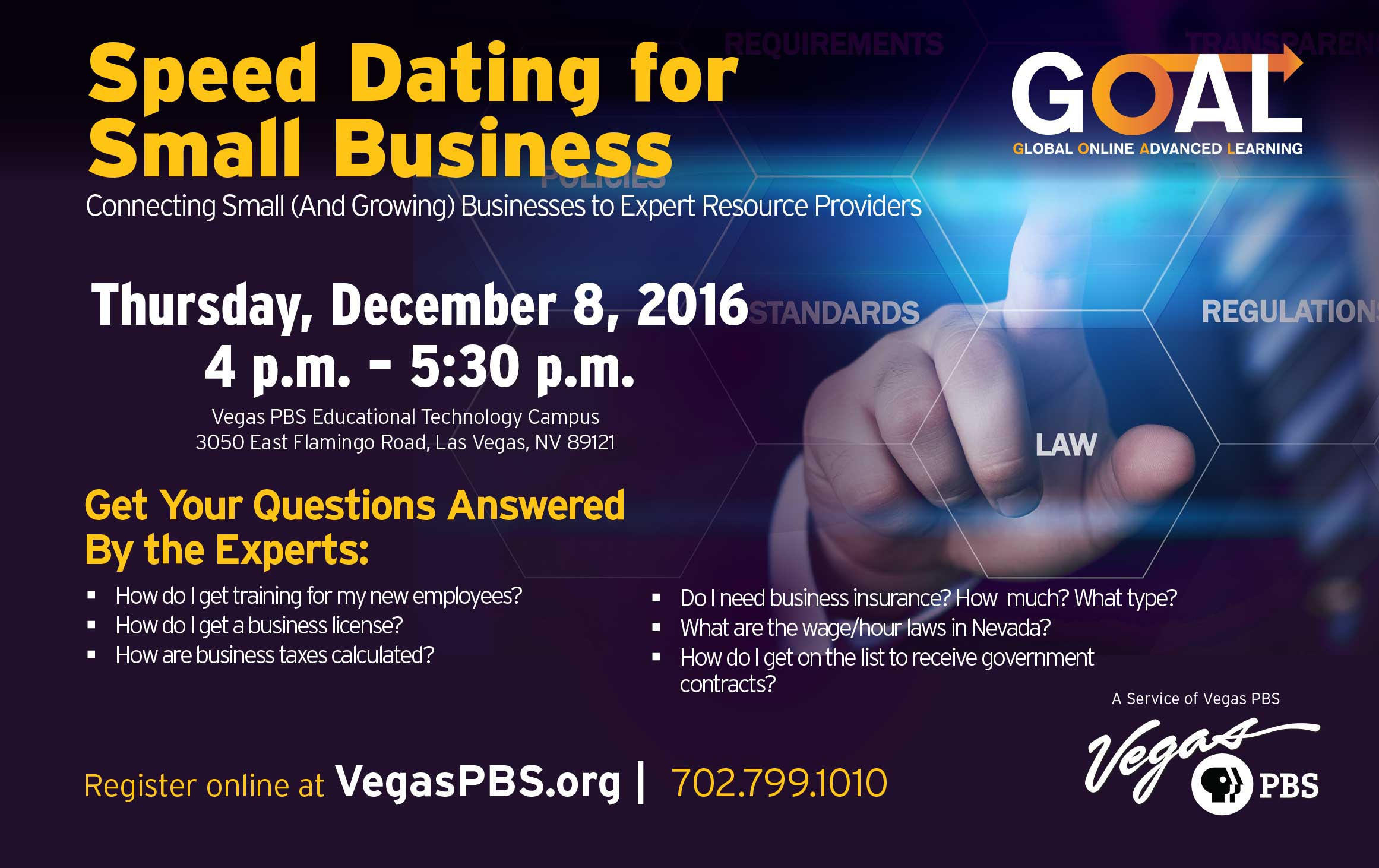Speed Dating for Small Business