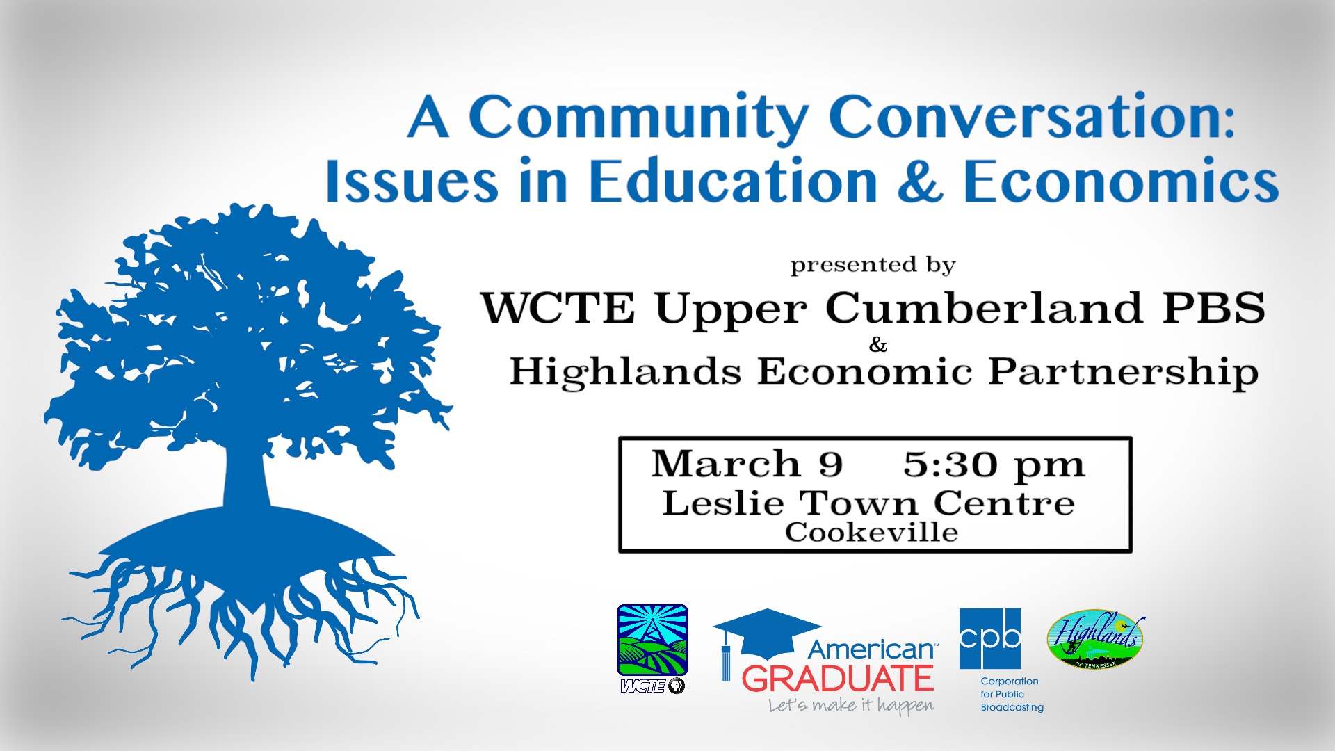 A Community Conversation: Issues in Education & Economics