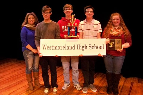 4th Place:  Westmoreland HS